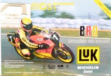 "MOST AUTODROM Motorcycle Racing 3.6.1990 original Poster 25 x 38"" ( 640 x 970mm)"